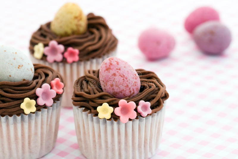 Ostern-kleine Kuchen stockfoto