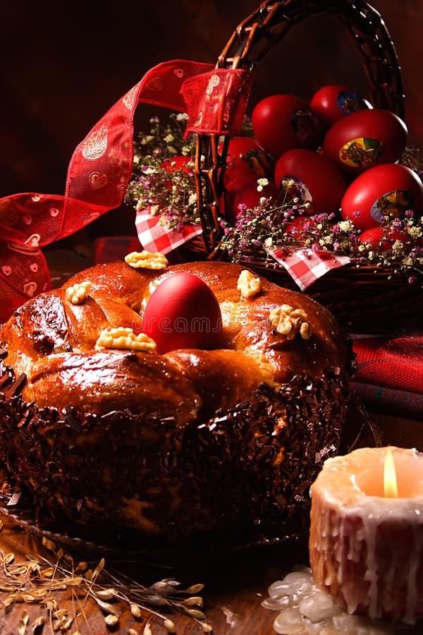 Ostern-Kuchen. Stockbilder