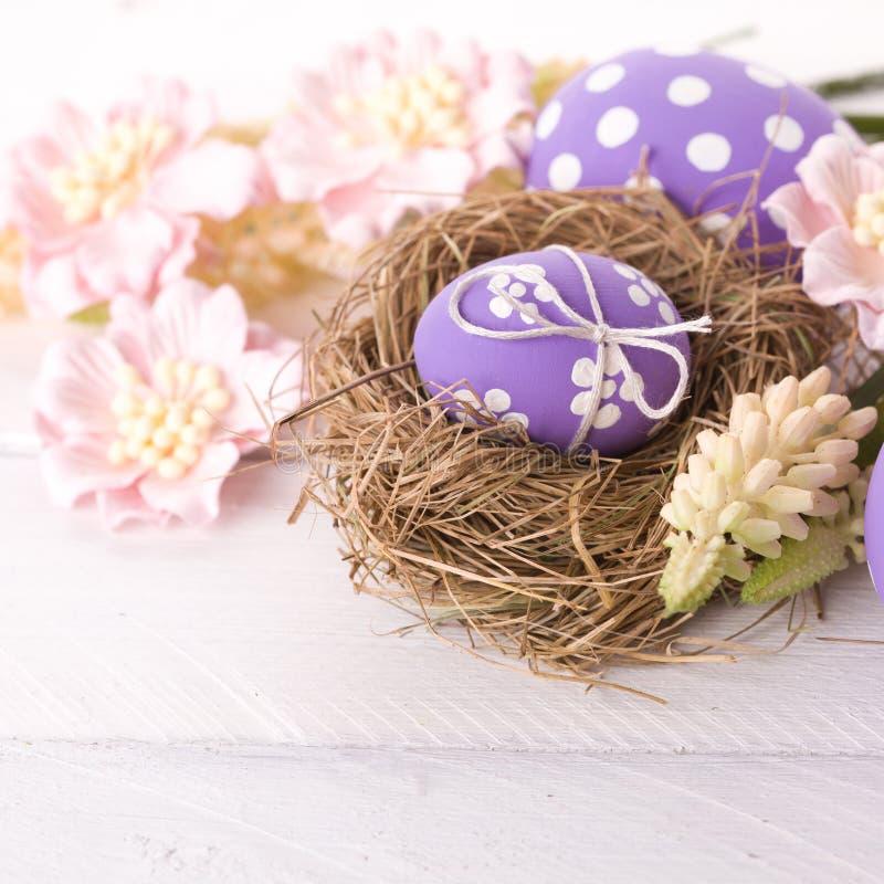 Ostern-Nest stockfotografie