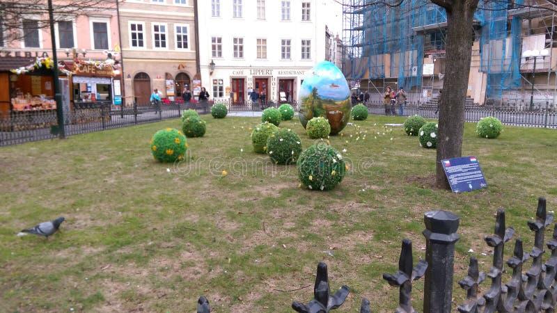 Ostern in Prag lizenzfreies stockfoto