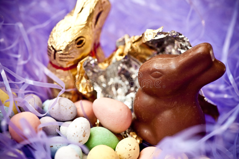 Ostern-Süßigkeit stockfotografie