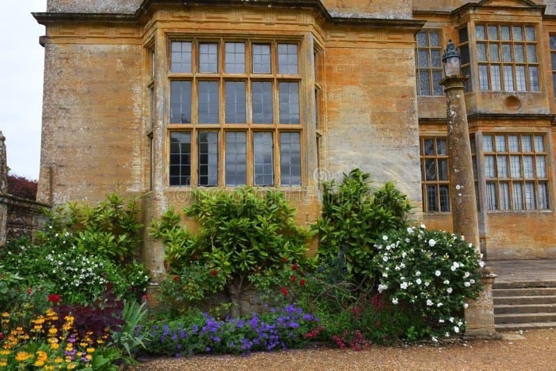 Ostflügel, Montacute-Haus, Somerset, England stockfoto