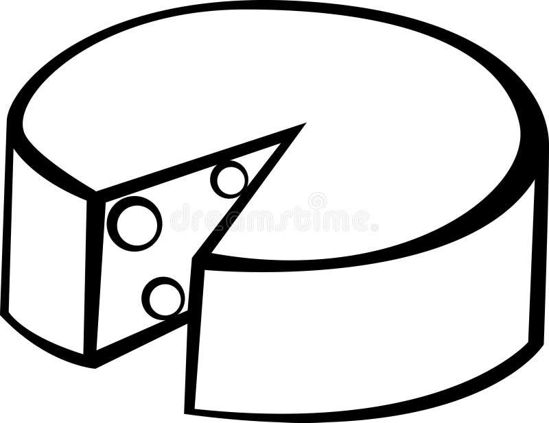 ostgruyere vektor illustrationer