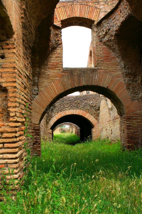 Ostia. The harbor city of ancient Rome ancient stock photos