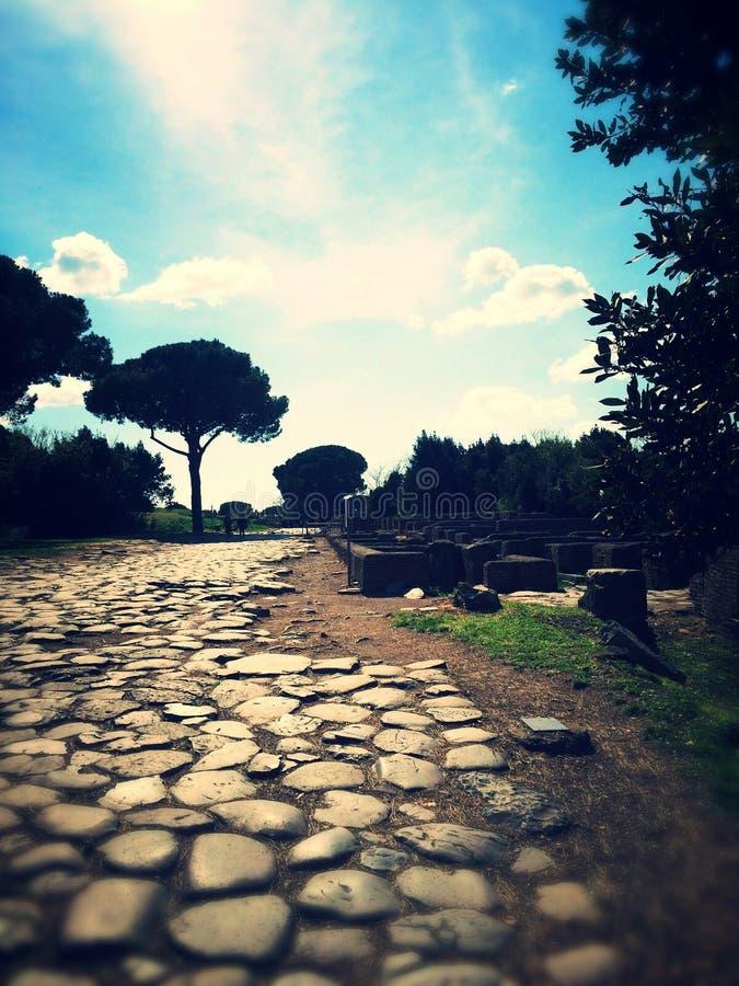 Ostia Antica photo libre de droits