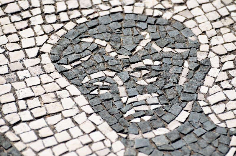 Ostia Antica, antyczna Romańska mozaika obrazy royalty free
