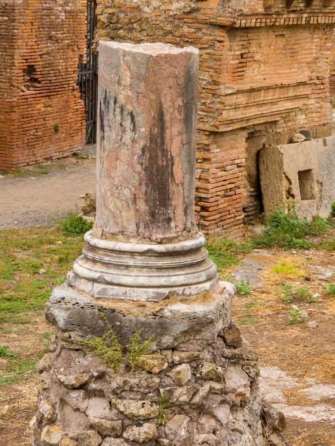 Ostia Antica, Roma, Itália fotografia de stock royalty free