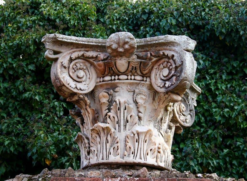 Ostia Antica. Ruins of Ostia Antica, ancient harbour of Rome, Lazio, Italy royalty free stock photos