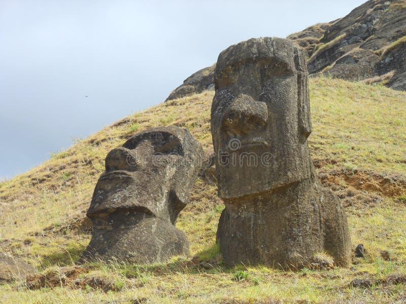 Ostinsel, Chile lizenzfreie stockbilder