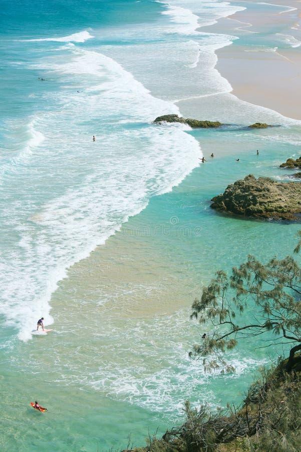 Ostkust Australien arkivbild