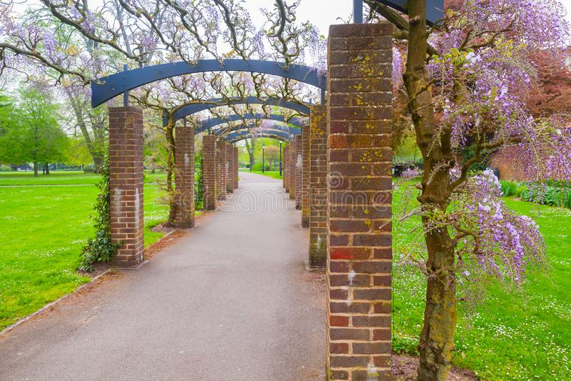 Ostpark, Southampton, Vereinigtes Königreich lizenzfreie stockbilder