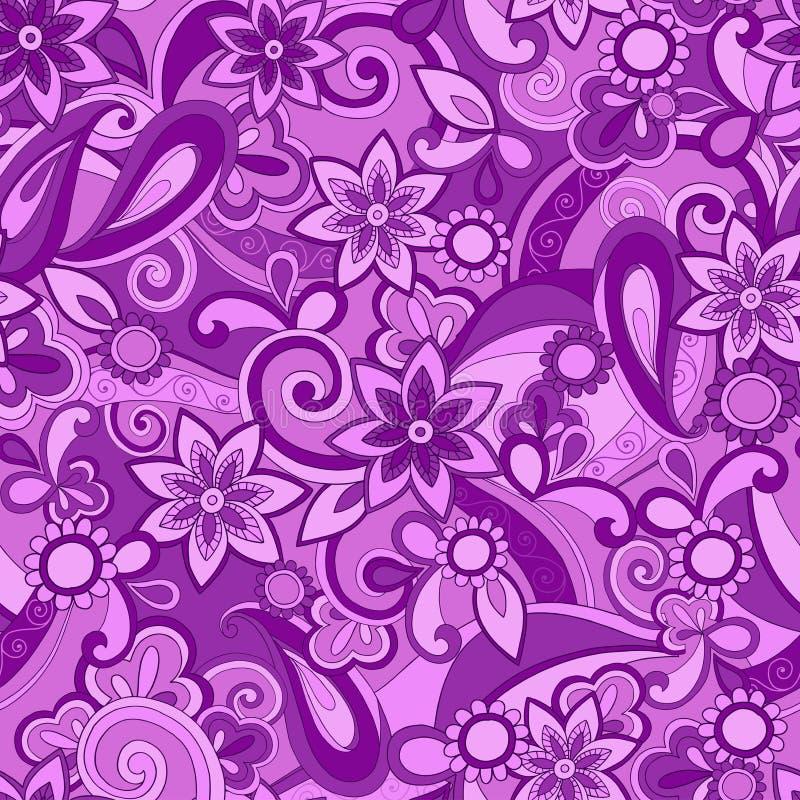 ostra deseniowa pucci purpur powtórka bezszwowa