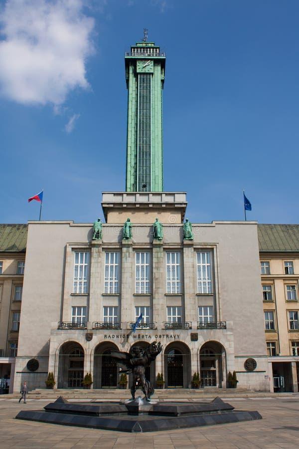 Ostrava imagen de archivo libre de regalías