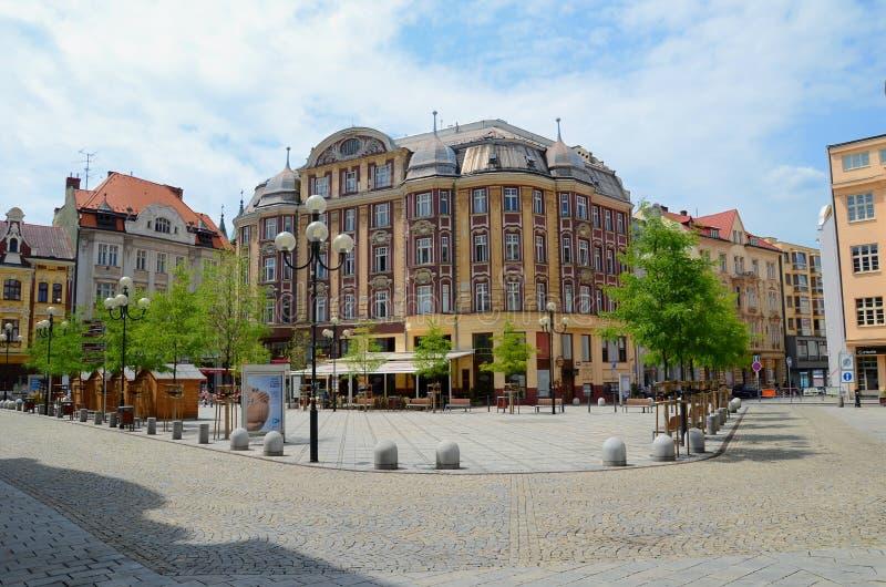 Ostrava Tjeckien fotografering för bildbyråer