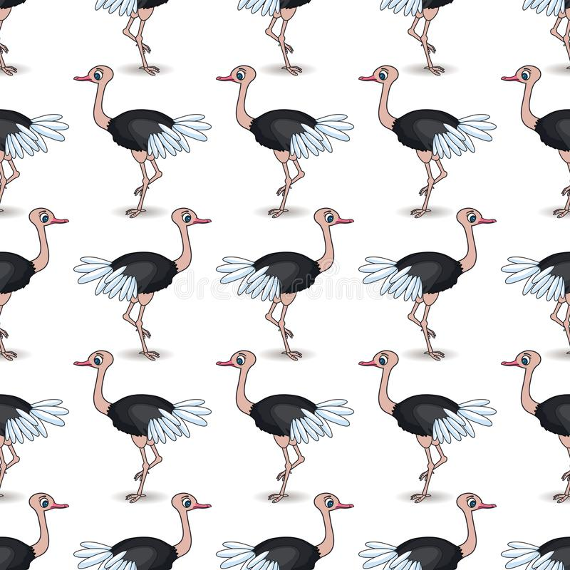 Free Ostrich With Feathers.African Royalty Free Stock Photos - 102070588