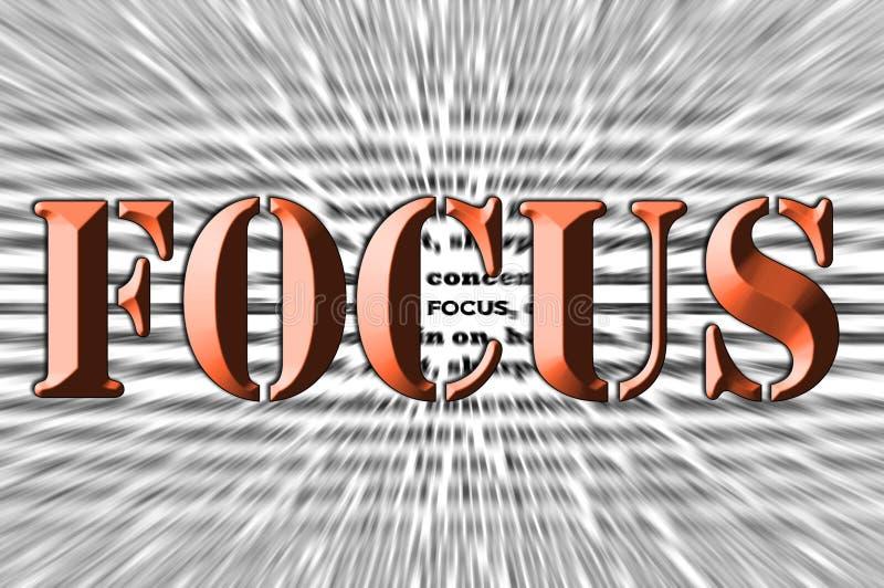 Ostrość - Ścinaka skutek - Brown Chrzcielnica ilustracji
