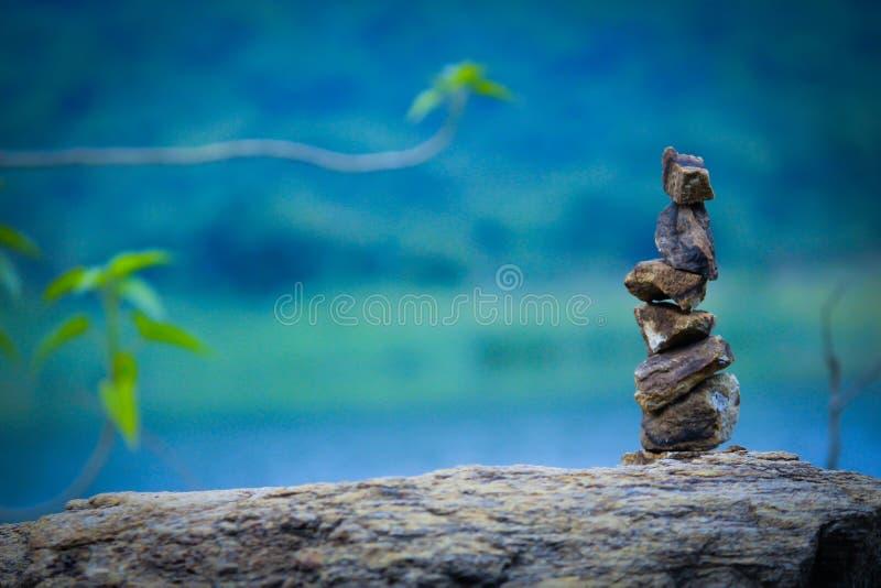 ostrości lensbaby nadplanowego ostrosłupa selekcyjny kamienia wierzchołek fotografia royalty free