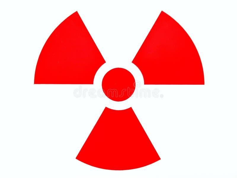 Ostrożności promieniowanie rentgenowskie zdjęcie stock