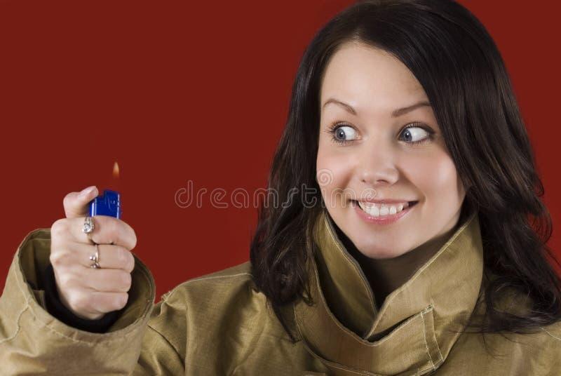 Download Ostrożnym ogieniem jest obraz stock. Obraz złożonej z pomarańcze - 13331033