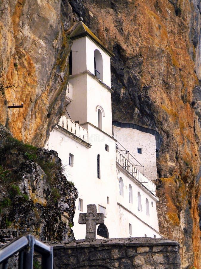 Ostrog修道院 库存照片