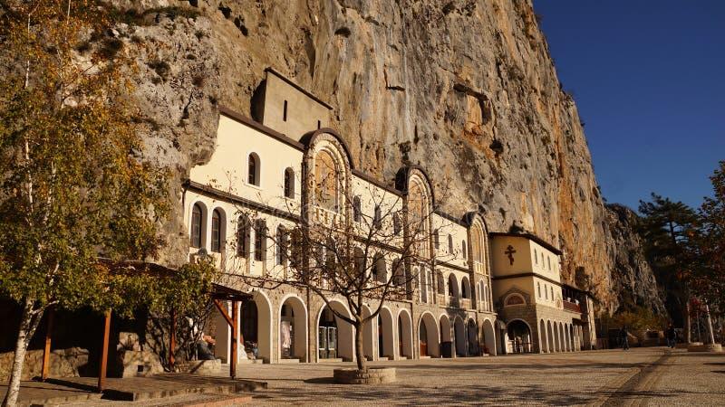 Ostrog Montenegro imagem de stock royalty free