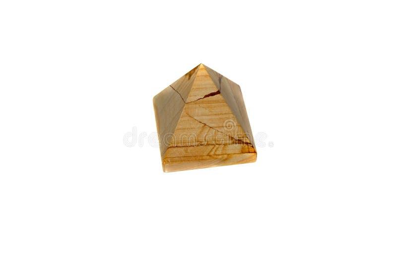Ostrosłup marmurowy onyks zdjęcie royalty free