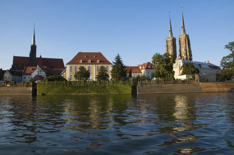 Download Ostrow Tumski fotografia stock. Immagine di radura, cattedrale - 30829728