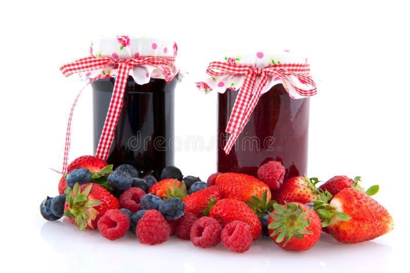 Ostruzione con frutta fotografie stock libere da diritti