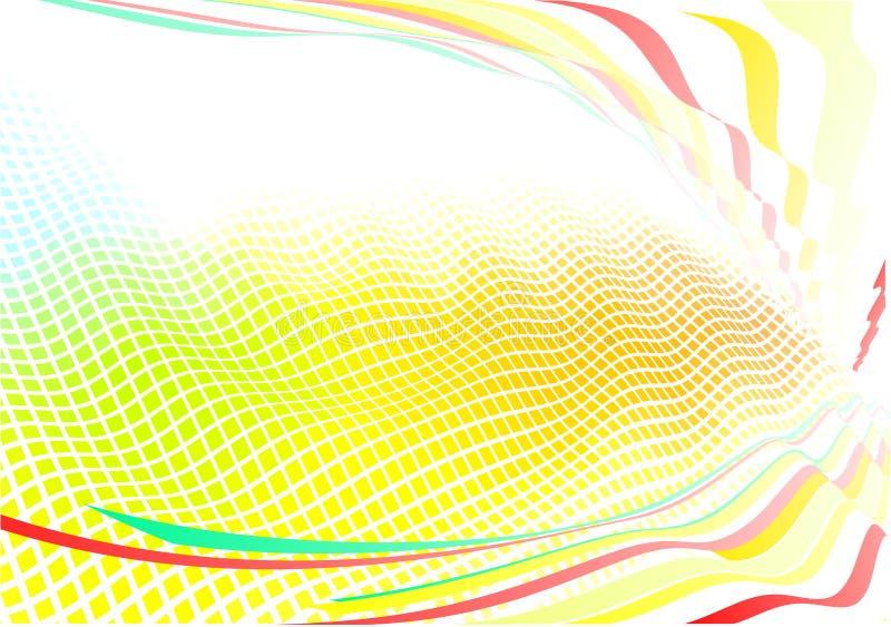 Ostry abstrakcjonistyczny tło ilustracji