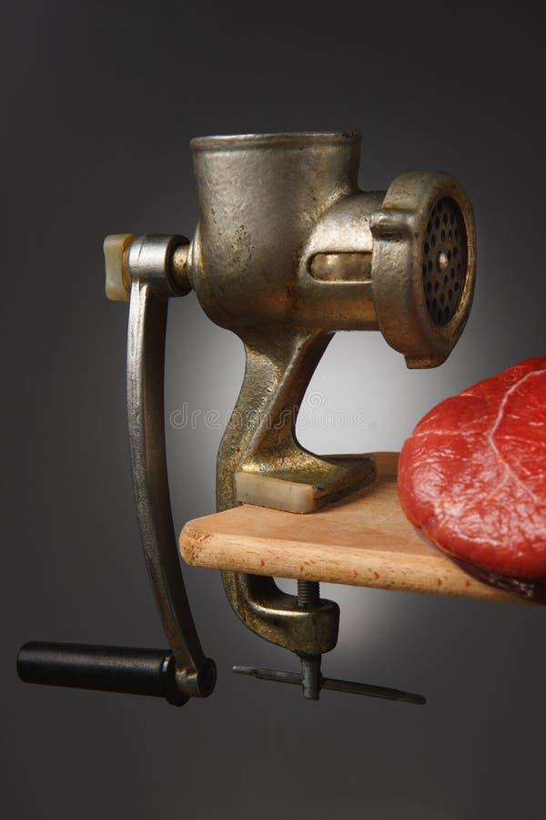 ostrzarza mięso zdjęcie stock