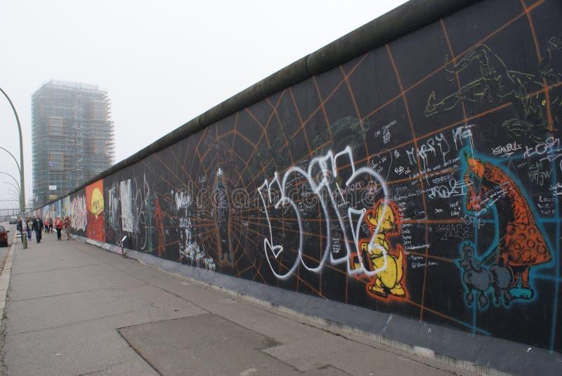 Ostseitengalerie, Berlin stockfotografie