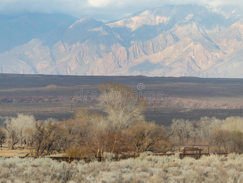 Ostsierra Nevada Range stockfotografie