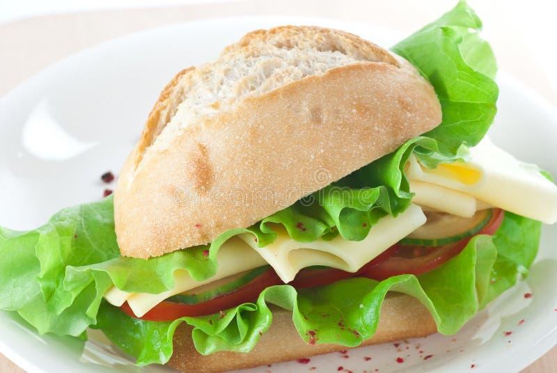 ostsmörgås royaltyfri fotografi
