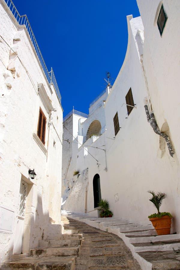 Ostuni, Apulia, Italië royalty-vrije stock afbeeldingen