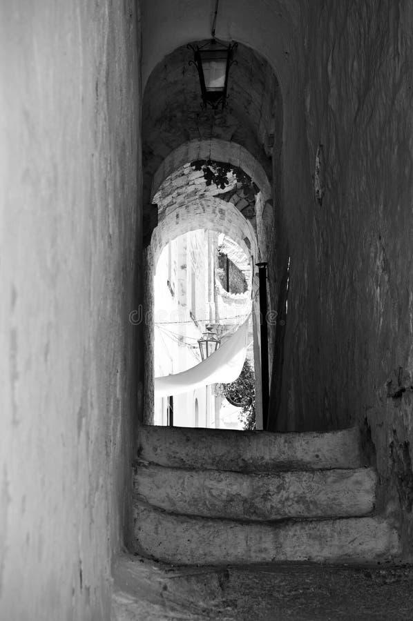 Download Ostuni lane with vaults stock photo. Image of apulia - 25866964