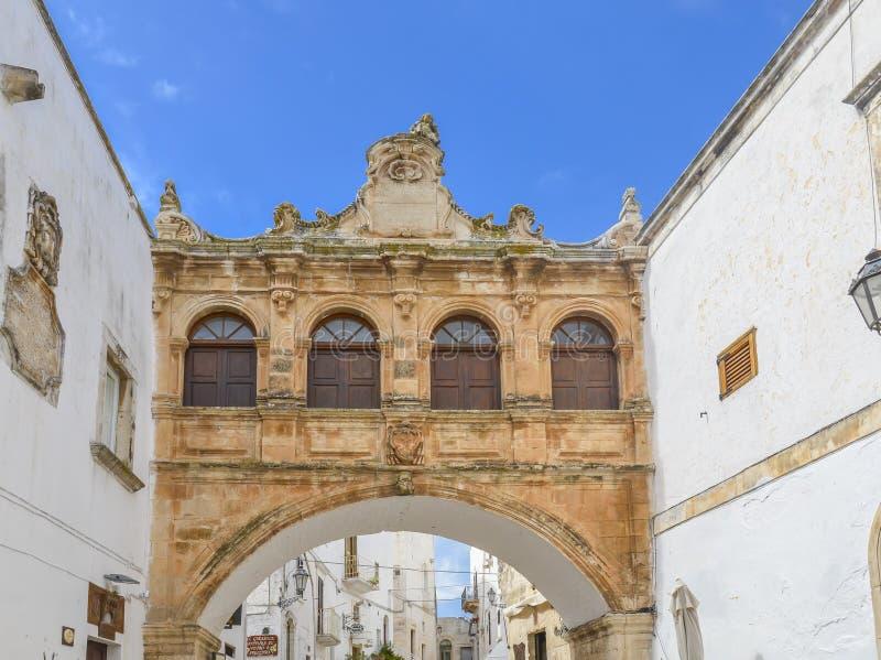 Ostuni, Puglia, Itália imagens de stock