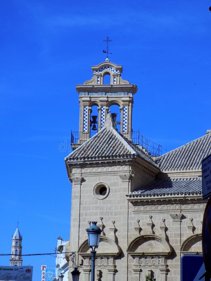 Osuna -Santo Domingo Church-Andalusia. Osuna-Santo Domingo Church -Sevilla-Andalusia royalty free stock photography