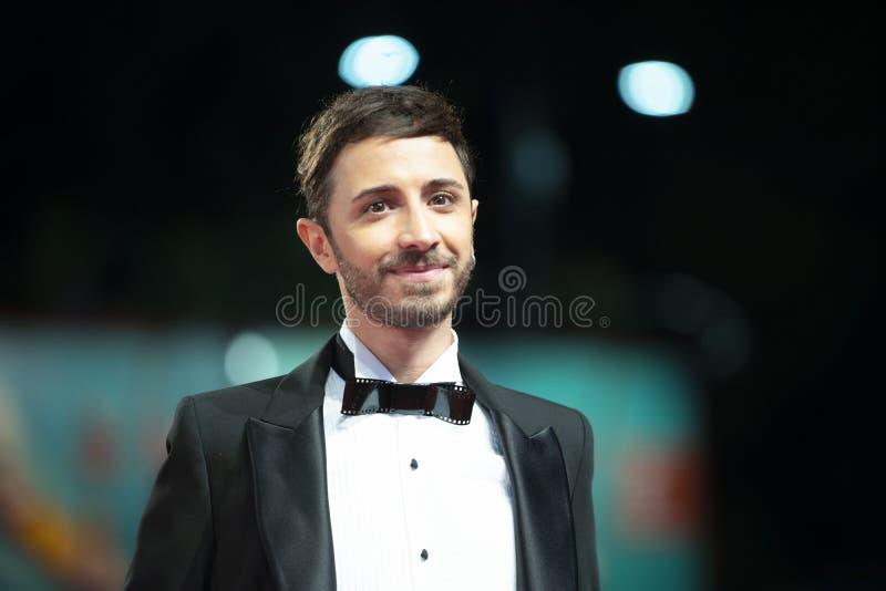 Osvaldo Supino walks the red carpet royalty free stock photo