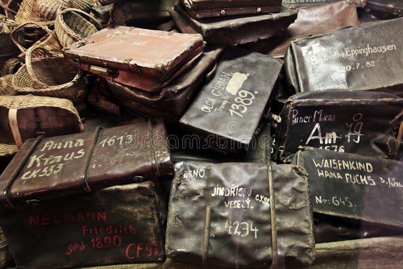 Oswiecim, het gebied van Polen Auschwitz royalty-vrije stock foto's