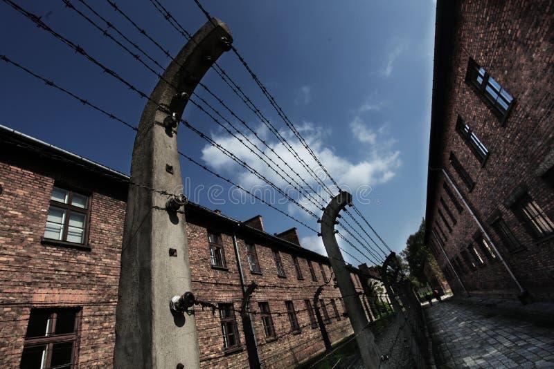 Oswiecim, het gebied van Polen Auschwitz royalty-vrije stock fotografie