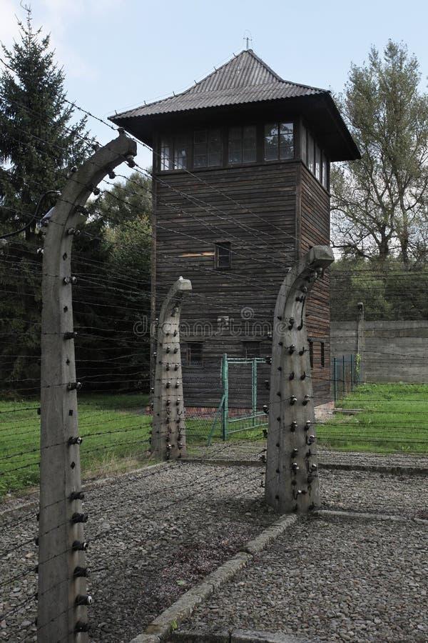 Oswiecim, Polen Auschwitz royalty-vrije stock afbeeldingen