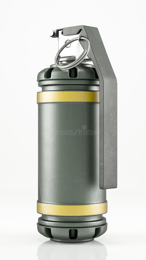 Oszałamia granat royalty ilustracja