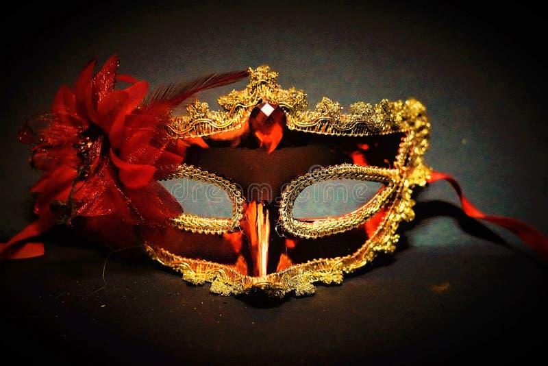 Oszałamiająco maska Dla damy mody wydarzeń fotografia royalty free