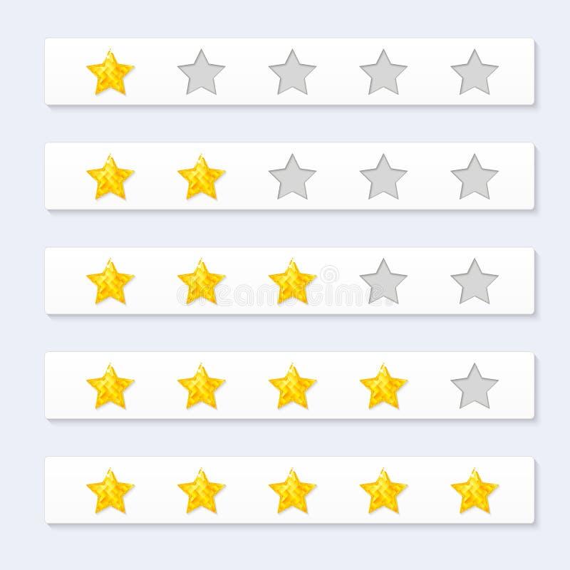 Oszacowywa gwiazdy ilustracji
