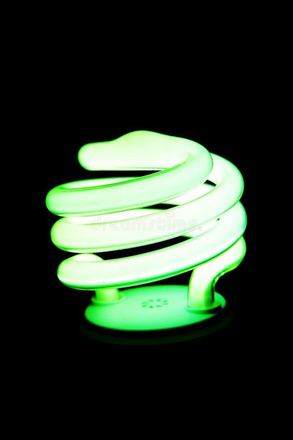 oszczędność energii światła żarówki zdjęcie stock