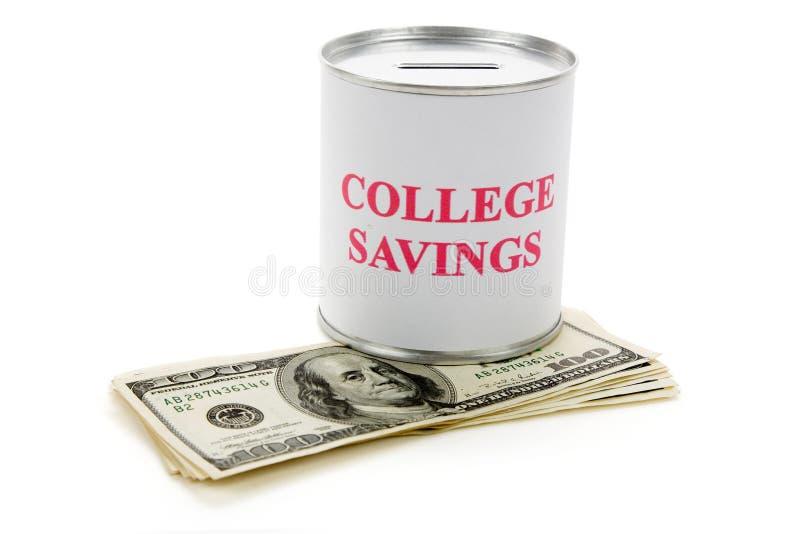 oszczędności w collegu obraz royalty free