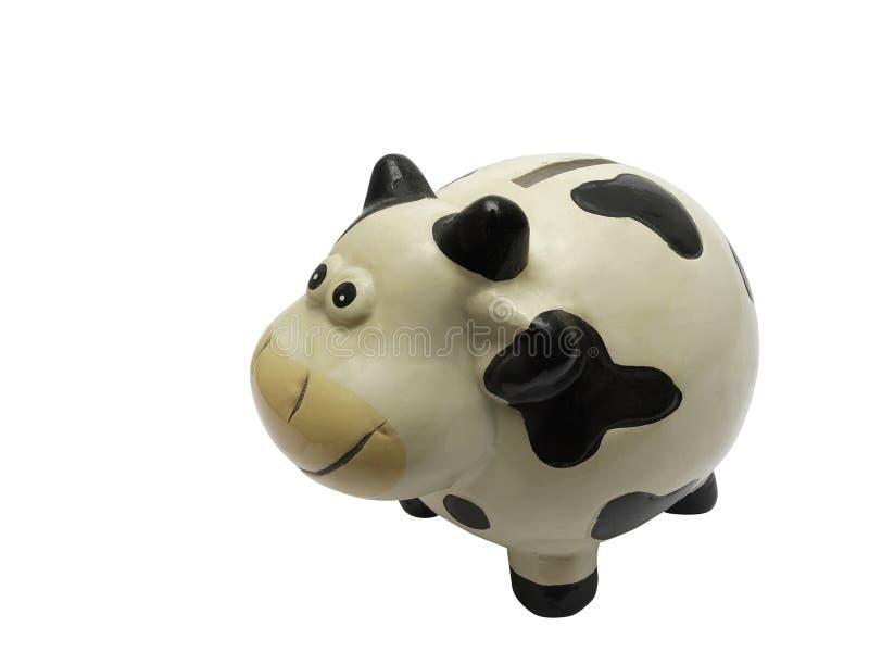 Oszczędzanie krowa obraz royalty free