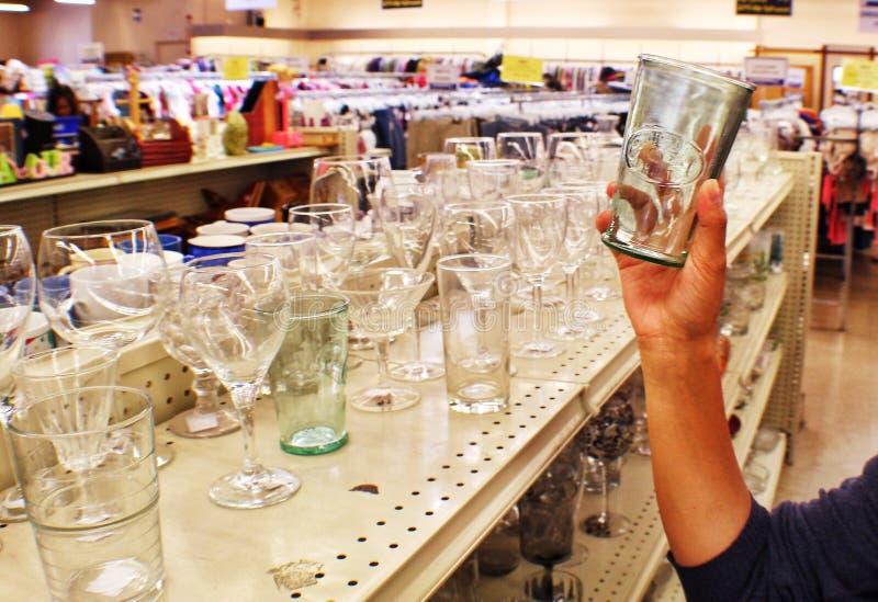Oszczędzanie sklepu zakupy fotografia royalty free