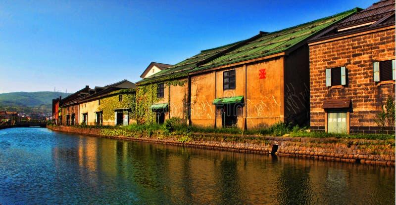 Otaru-Kanal stockfotos