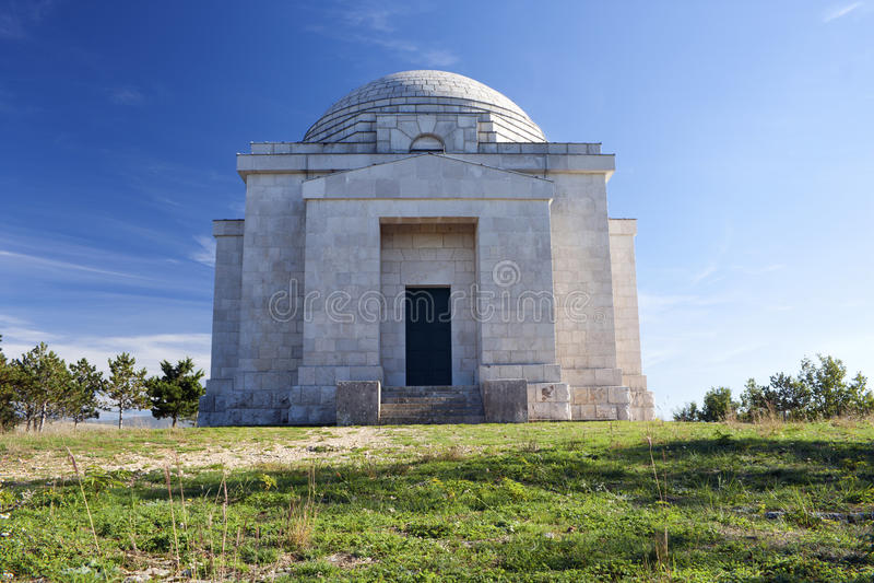 Otavice的Ivan Mestrovic陵墓 库存图片